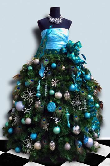 Dress Form Christmas Tree