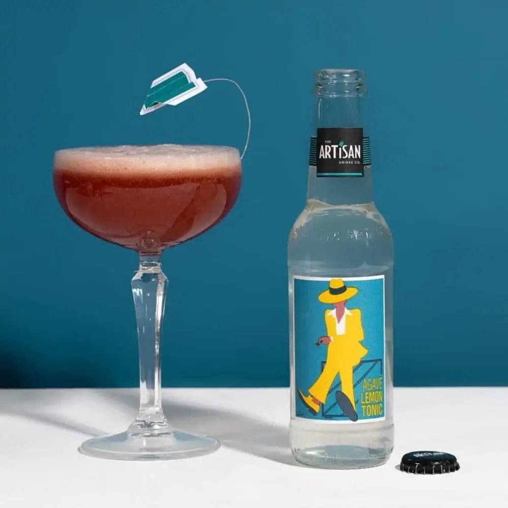 The Artisan Drinks Co Agave Lemon Tonic