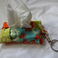 Tissue holder for the Sneezy McSneezerson