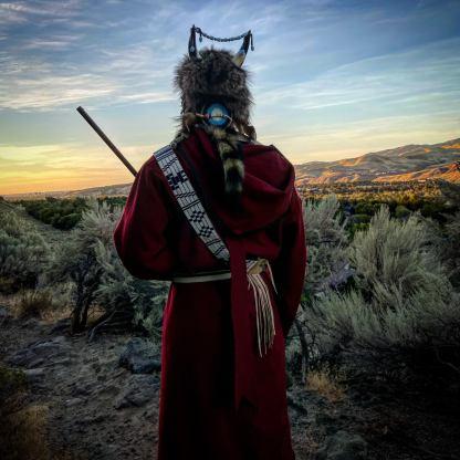 capote coat Native American Made