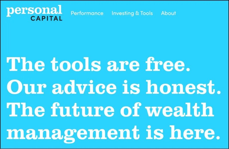 Personal Capital Wealth Management App