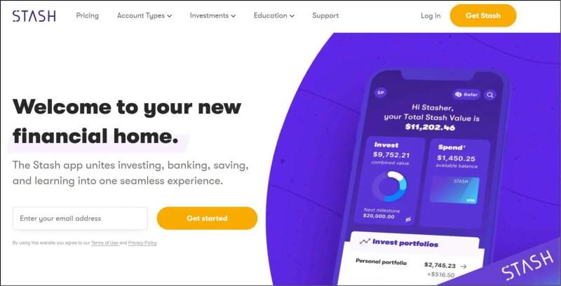 Stash Financial App