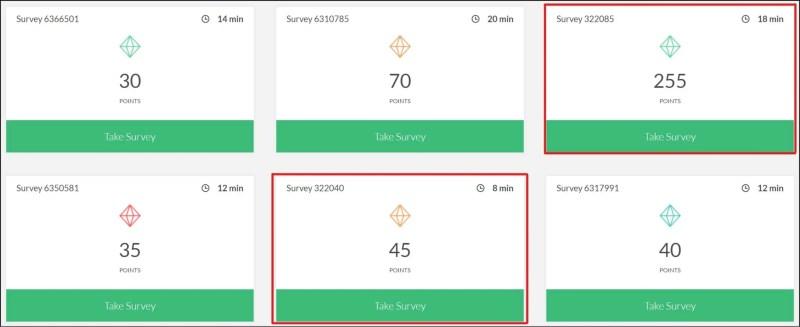 Survey Junkie online surveys for making money when you're bored.