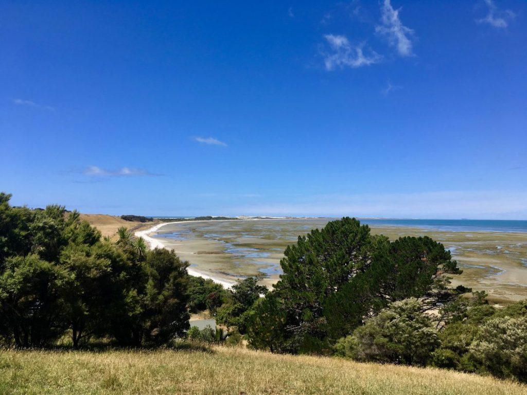 secret location New Zealand beach farewell spit