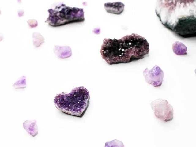 crystals amethyst