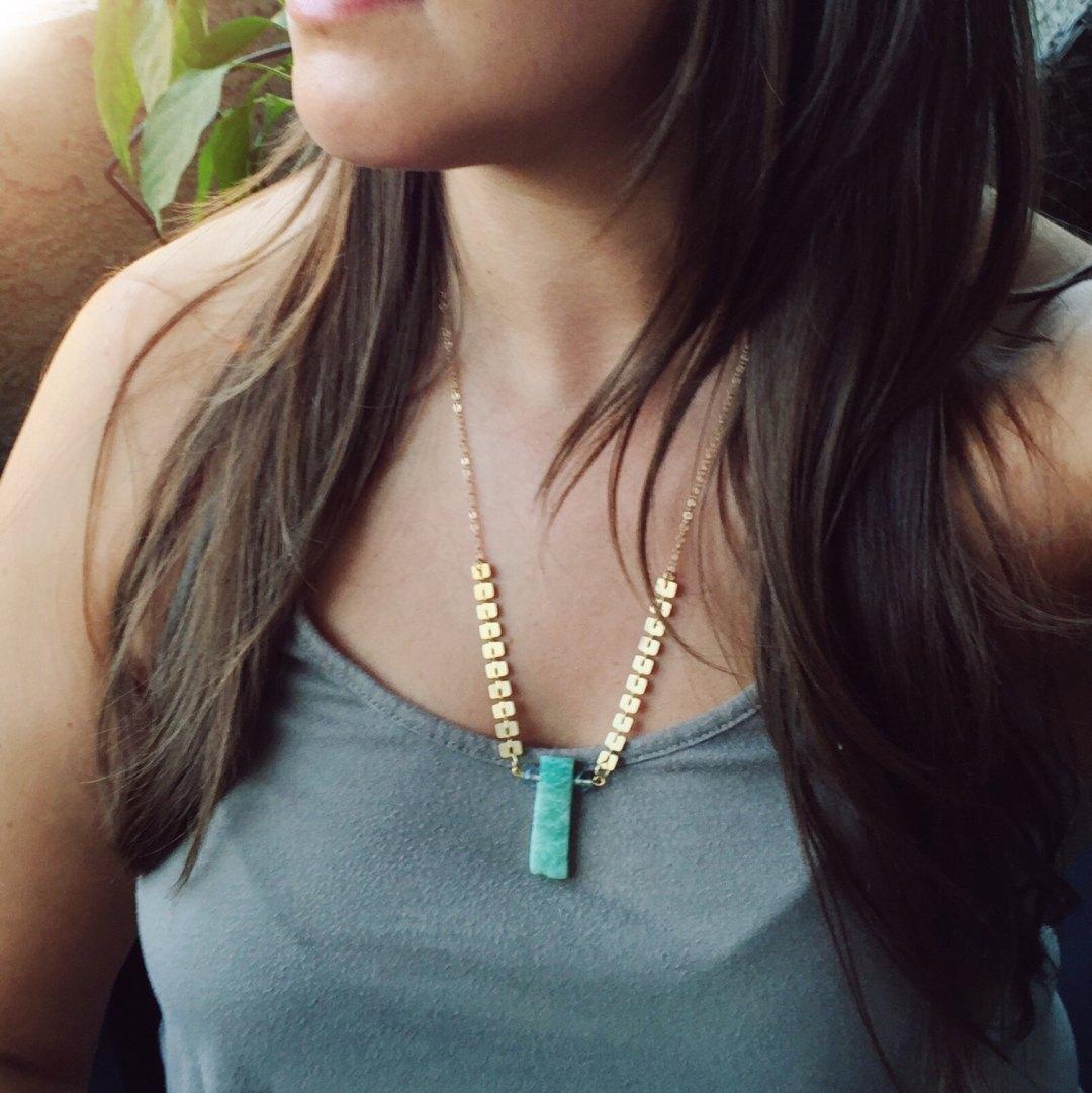 Bohemian Jewelry - Brazil Amazonite