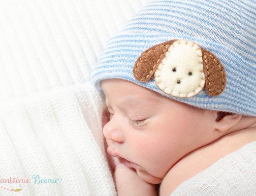 Baby boy hospital hat