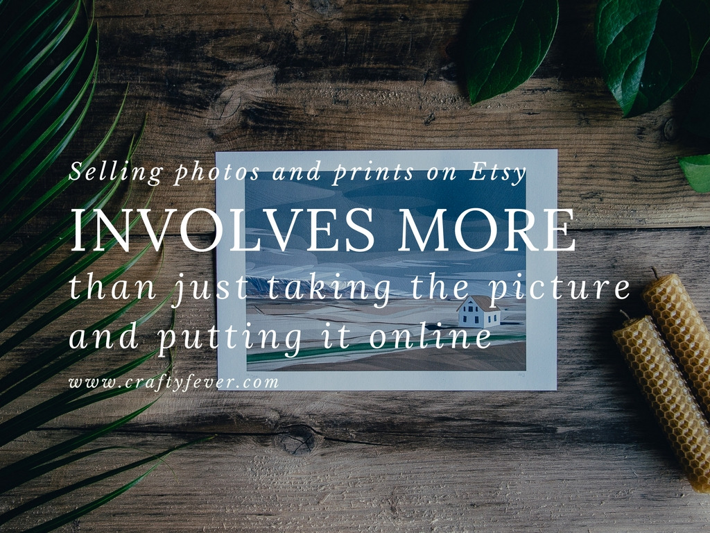 Tips for selling photography on Etsy