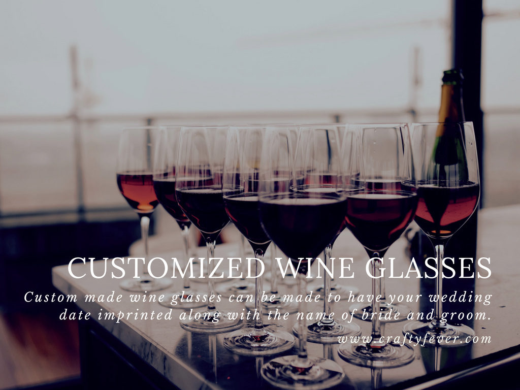 Customized Wine Glasses - Best selling Etsy Items