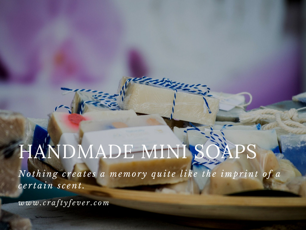 Etsy Wedding Bestsellers - Mini Soaps