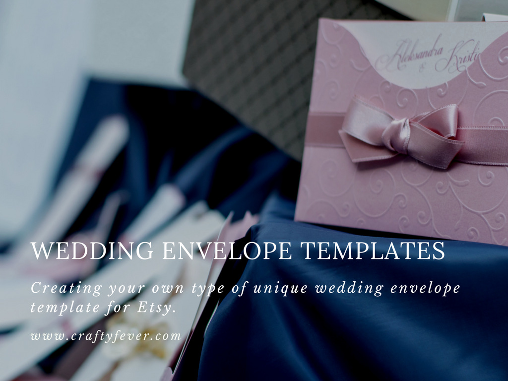 Etsy Wedding Bestsellers - Envelope Templates
