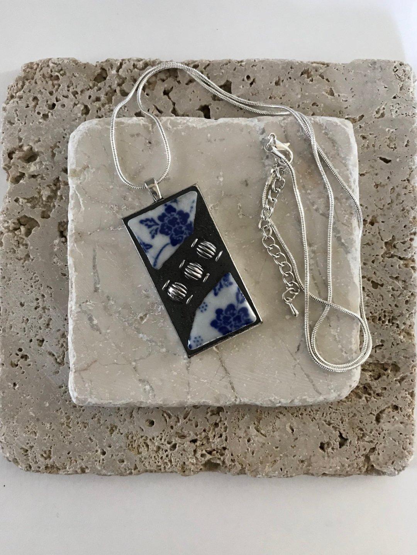 mosaic tiles pendant