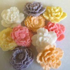 10 Mini Flowers Soaps