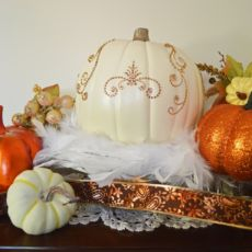 Thanksgiving Table Shabby Chic Decoration