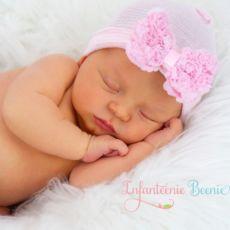 Newborn Hospital Hat Baby Girl