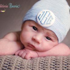 baby boy newborn hospital hat