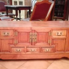 Chinese Elm wood cabinet