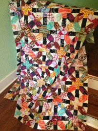 Long awaited X+ quilt (a full post about this later in the week)