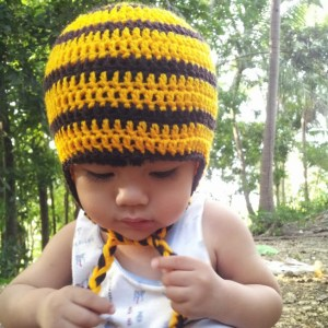 bee hat- free crochet pattern