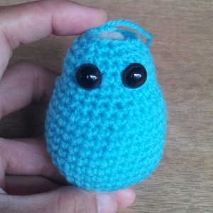 monster amigurumi body