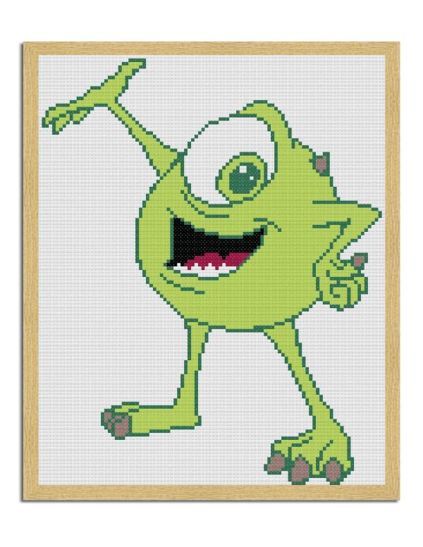 monsters incorporated free cross stitch pattern-01-01