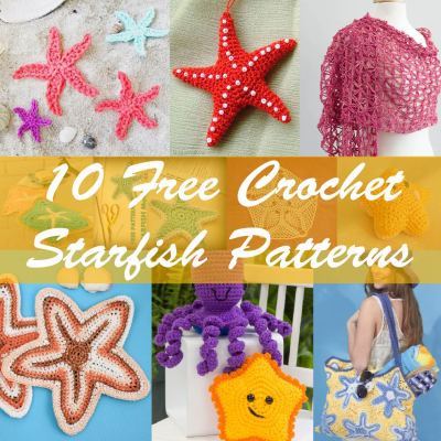 10 Free Crochet Starfish Patterns