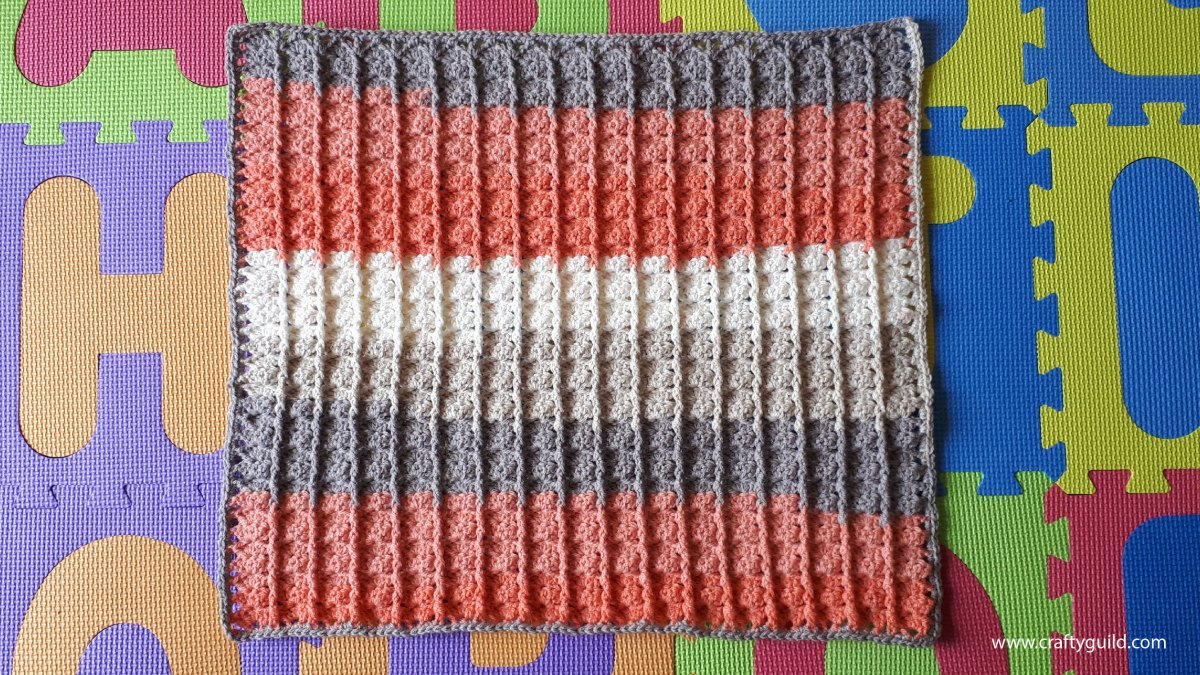 1 Ball Caron Cake Baby Blanket Video Tutorial