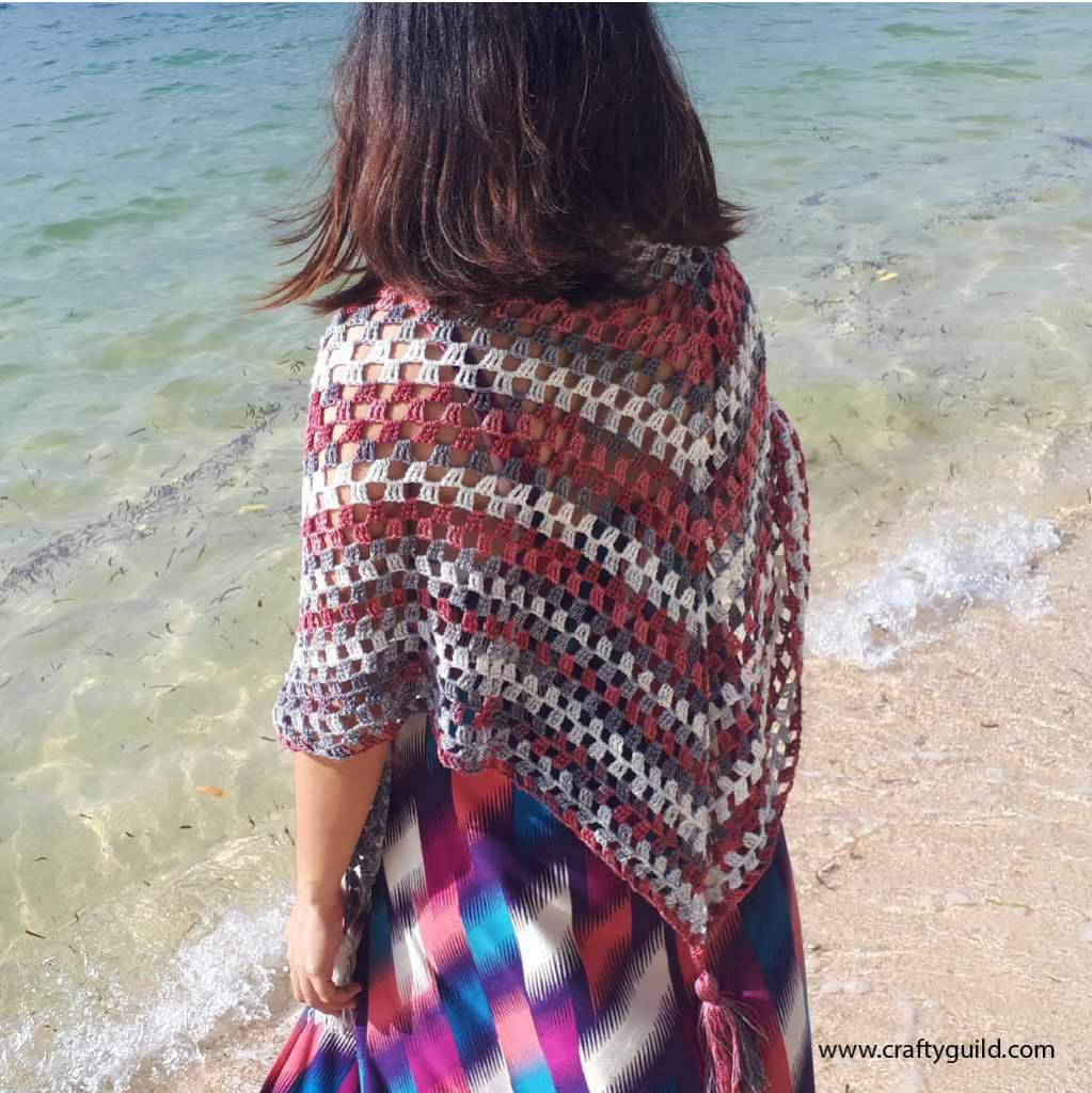 easy and simple scarf free video tutorial