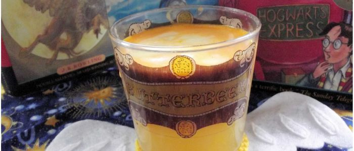 Healthy Juiced Butterbeer