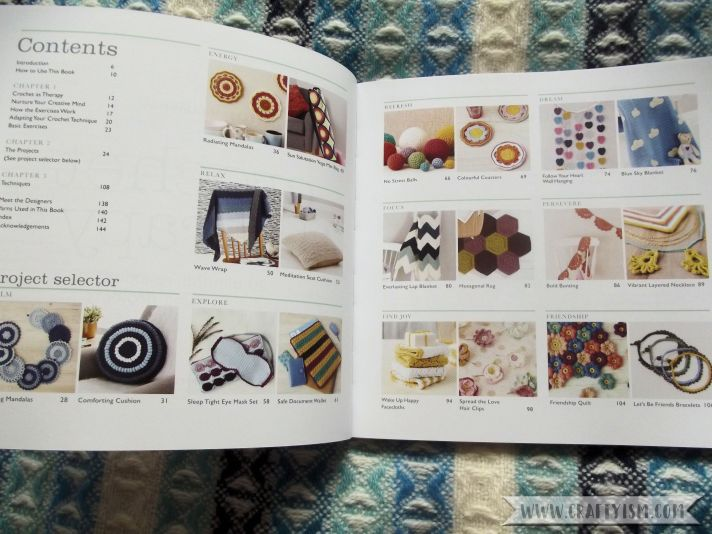 Crochet Therapy Contents