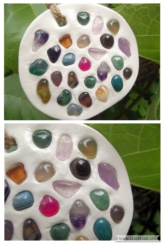Garden Gemstone Suncatcher Finished