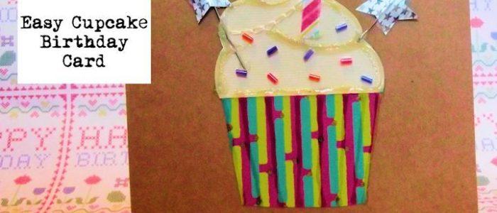 How to Cupcake Birthday Card Intro