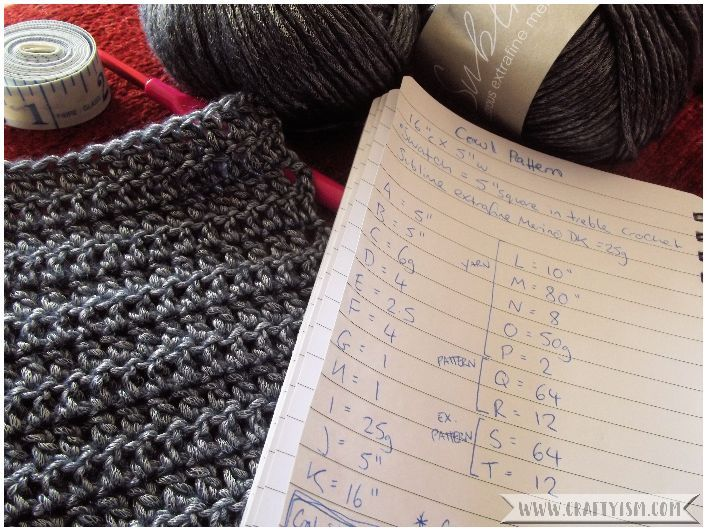 Review - Design Your Own Crochet Projects by Sara Delaney swatch