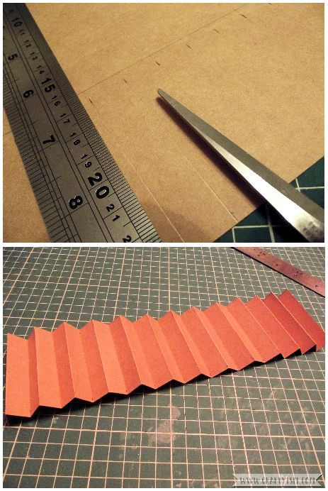 How to Make Easy Yearly Journal concertina