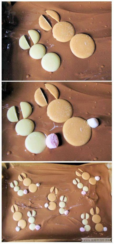 How to - Easter Bunny Chocolate Slab | Step 5 Make the Easter Bunny