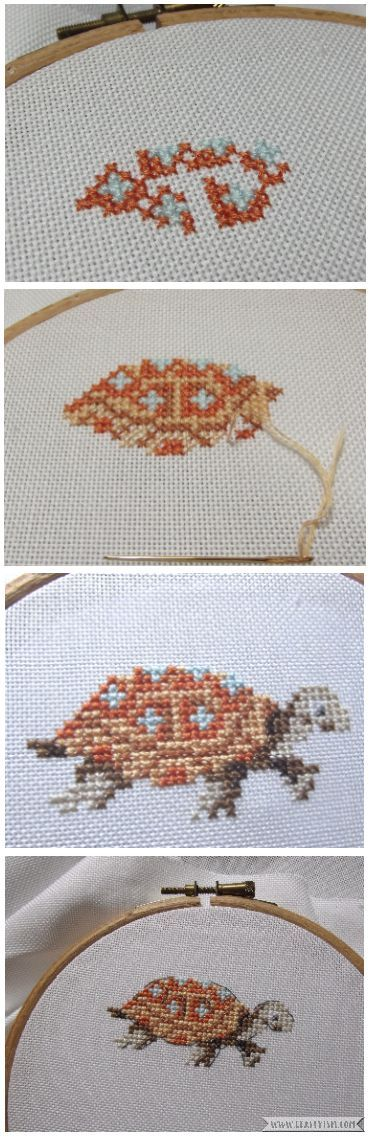 Review - Fables & Fairy Tales to Cross Stitch by Veronique Enginger | Project