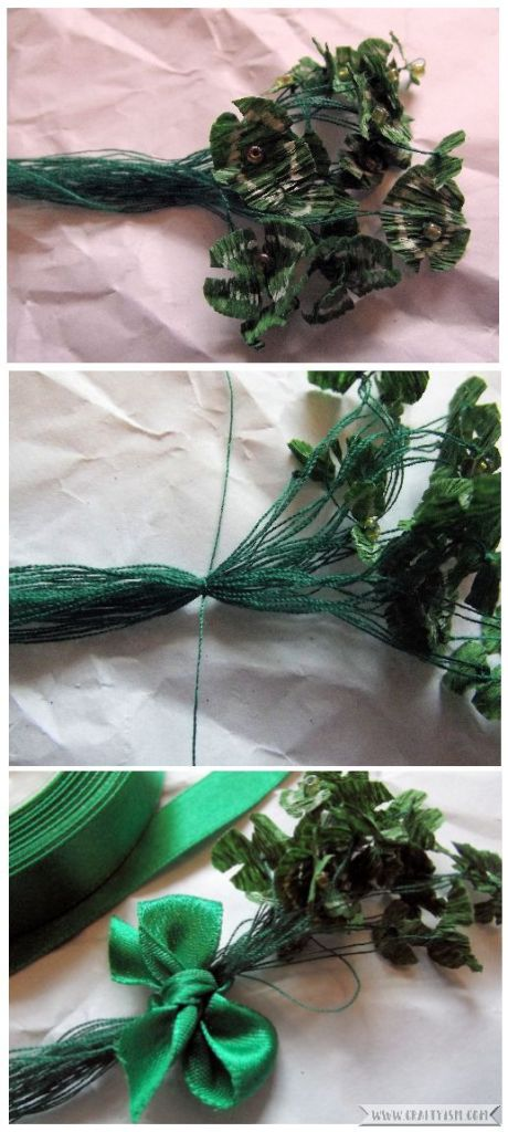 How to St. Patrick's Day Shamrock Brooch | Step 5