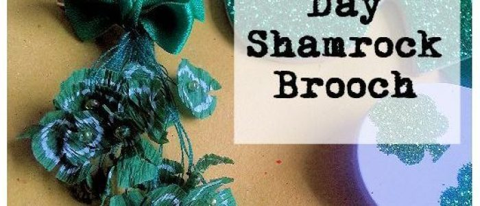 How to St. Patrick's Day Shamrock Brooch | Title