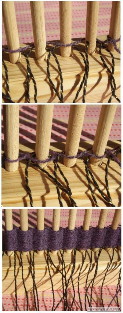 How to tutorial - Beginners Peg Loom | weaving