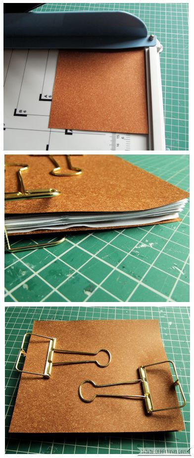Craftyism - Upcycled Envelope Notebook | Cover