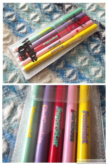 Craftyism 1st Birthday Giveaway Tatty Devine Pens