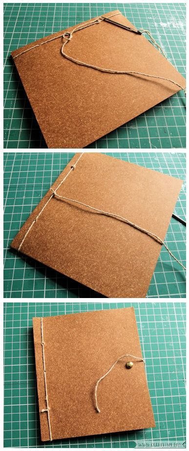 Craftyism - Upcylced Envelope Notebook | Fastening 2