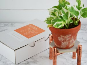Etsy Holiday Gift Guide - Plant Stand Kit by SlinkyHome