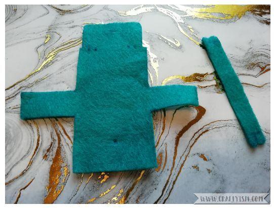 Craftyism - How to-Miniature Handbag | Step 1