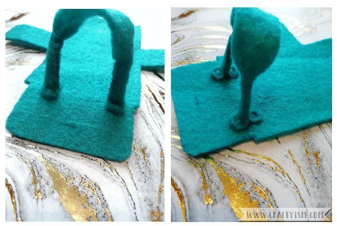 Craftyism - How to-Miniature Handbag | Step 3