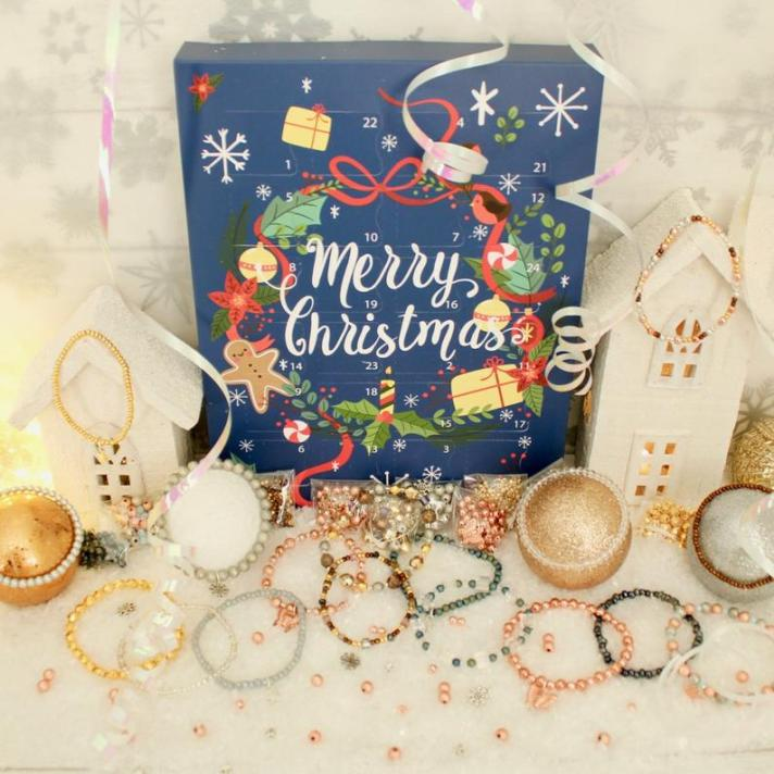 Craftyism| Advent Calendars for Crafters | Jewellery Making Advent Calendar by Waterfall Beads Kits