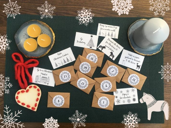 Craftyism| Advent Calendars for Crafters | Slow Living Mindfulness Advent Calendar by Patzifatz