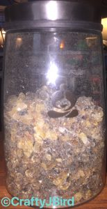 Teavana - Glass Canister with Belgium Rock Sugar