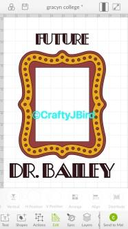 Future Doctor -- Visit CraftyJbird.com for more information