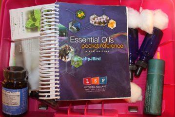 Essential Oils Storage -- Visit CraftyJbird.com for more info
